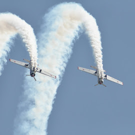 Yeovilton air day by Michelle Victoria - Transportation Airplanes ( flying, airplane, aircraft, stunt, airshow )