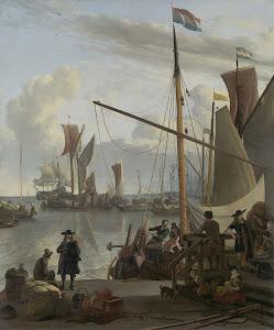 RIJKS: Ludolf Bakhuysen: painting 1673