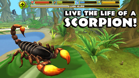 Scorpion Simulator