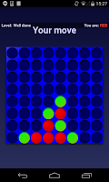 Screenshot of Connect 4 (Four in a row)