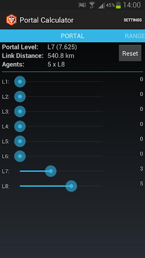 ingress-portal-calculator for android screenshot