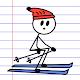 Stick Man Sports Ski Games