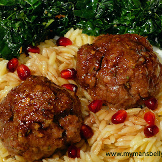 No More Turkey Leftovers - Lamb Meatballs