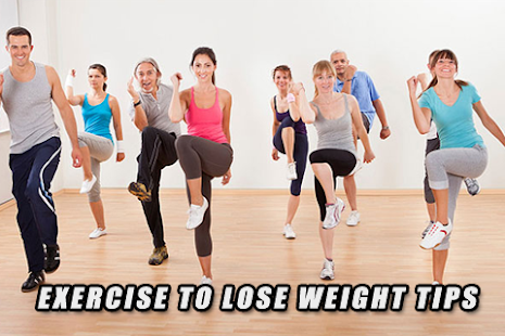 Exercise To Lose Weight Tips - screenshot