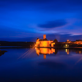 Timoleague Twilight by Graham Daly - Landscapes Travel ( canon 5d mark ii, ireland, twilight, night time, graham daly photography, county cork, friary, 5d mark 2, timoleague abbey, west cork, long exposure, landscapes, night shoot )