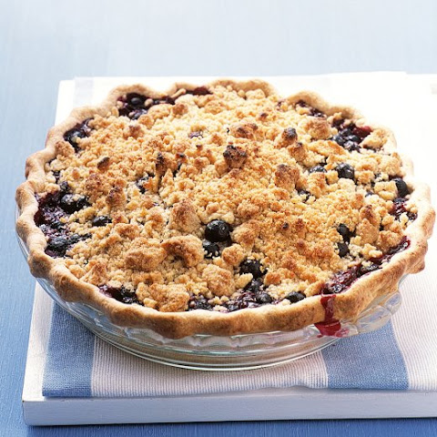 Fruit Pie with Crumb Topping