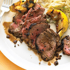 Spiced Butterflied Leg of Lamb