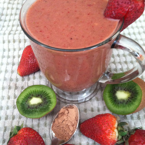 Chocolate Strawberry Smoothie