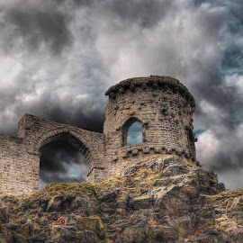 mow cop castle by Jason Griffiths - Buildings & Architecture Decaying & Abandoned ( castle )