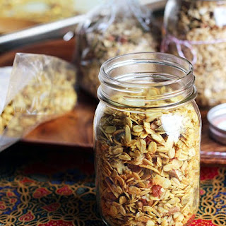 Curry Coconut Savory Granola