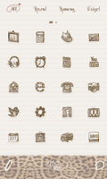 Screenshot of urbanchic(hopi2)dodol launcher