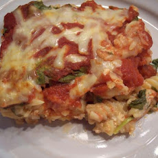 Spinach & Pasta Bake(2.5 Ww Points)