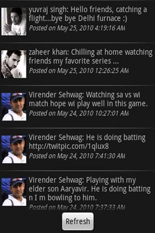 Indian Cricket Tweets
