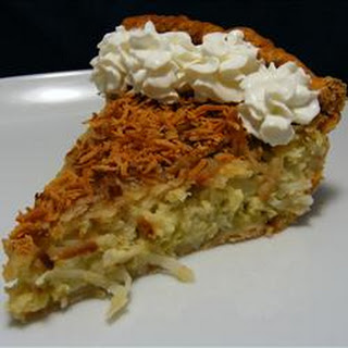 Coconut Custard Pie II