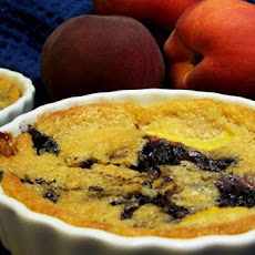 Mini Peachberry Cobblers