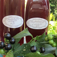 Huckleberry Vinegar! or Any Berries Desired