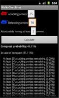 Screenshot of Risiko Simulator