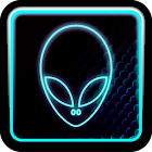 BLUE ALIEN ADW Theme icon