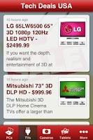 Screenshot of Tech Deals USA