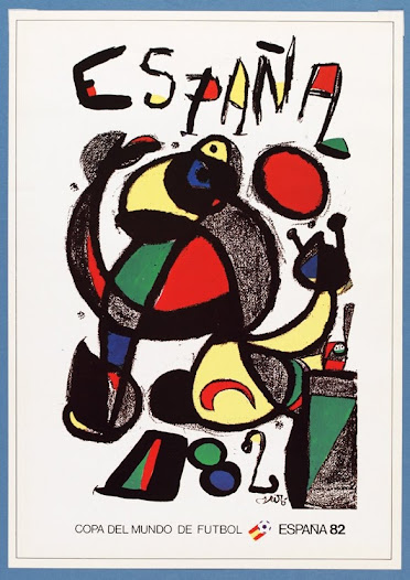 """One is struck be the brilliant, eclectic, unorthodox artwork of Juan Miro..."" David Goldblatt, Football Writer"