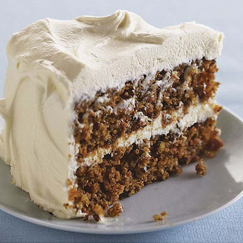 Classic Carrot Layer Cake with Vanilla Cream Cheese Frosting