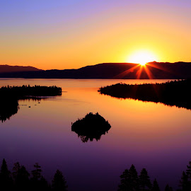 Emerald Bay Sunrise by Dale Andrews - Novices Only Landscapes ( sunrise, lake tahoe )