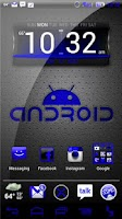 Screenshot of NateModz Blue CM10 Theme