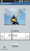 Screenshot of Beginning Blends Word Builder