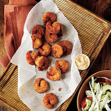 Pan-Fried Shrimp with Creole Mayonnaise