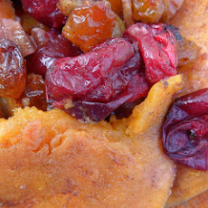 Cranberry and Sweet Potato Casserole