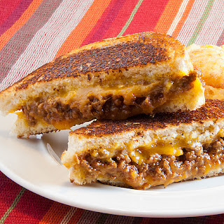 Sloppy Grilled Cheese Sandwiches