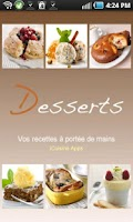 Screenshot of iCuisine Desserts