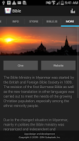 Screenshot of Bible Society of Myanmar
