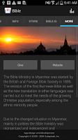 Screenshot of Bible Society of Myanmar