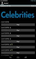 Screenshot of Celebrity Quiz - Who Dat?