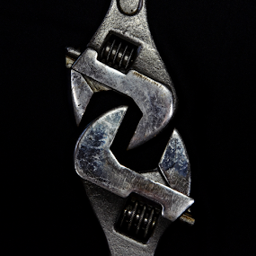 Linked by Freddie Meagher - Artistic Objects Industrial Objects ( metal, tool, steel, spanner, wrench,  )