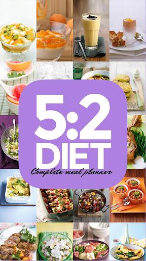 5:2 Diet Complete Meal Planner - screenshot