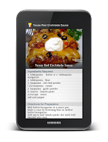 Screenshot of Cookbook French Recipes