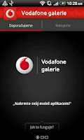 Screenshot of Vodafone galerie