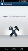 Screenshot of Yardi Maintenance Mobile