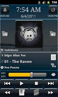 Screenshot of MortPlayer Audio Books