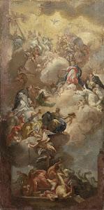RIJKS: copy after Francesco Solimena: painting 1785