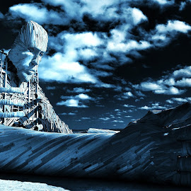 Dark moon rising by Jaco Kruger - Buildings & Architecture Statues & Monuments (  )