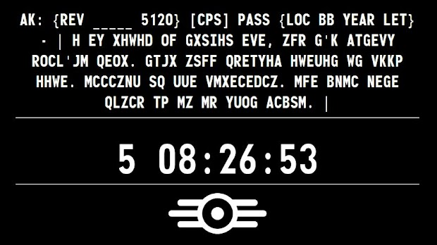 Another coded message appears on The Survivor 2299 Fallout 4 teaser site