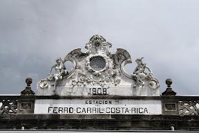 Estación de tren en Costa Rica