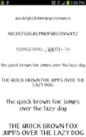 Screenshot of Fonts for Galaxy FlipFont Free