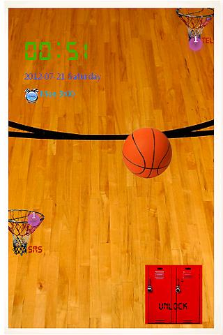 Basketball Go Locker Theme