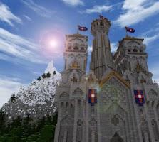 Screenshot of EPIC Minecraft Castle