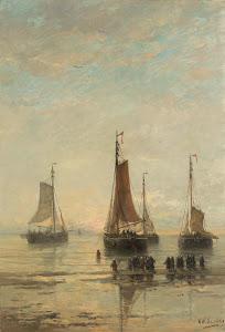 RIJKS: Hendrik Willem Mesdag: painting 1889
