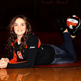{M.F.} by Samantha Farr - Novices Only Sports ( senior portrait, portraits of women, volleyball, portrait, senior )